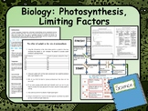 Biology:  Photosynthesis, Limiting Factors Lesson