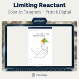 Limiting Reactant (Reagant) Color-In Tangram   Distance Learning