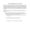 Limiting Reagent Intro Practice