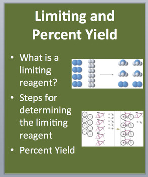 Limiting and Percent Yield - A Chemistry PowerPoint Lesson