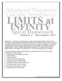 Limits At Infinity SPIRAL Homework with Solutions