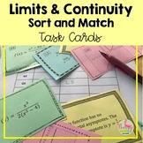 Calculus Limits and Continuity Sort Match Activity (Unit 1)