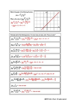 Limits Involving Rational Functions