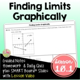 Finding Limits Graphically with Lesson Video (Unit 10)