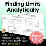 Finding Limits Analytically with Lesson Video (Unit 10)