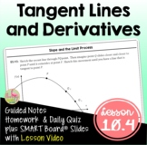 The Derivative and Tangent Lines with Lesson Video (Unit 10)