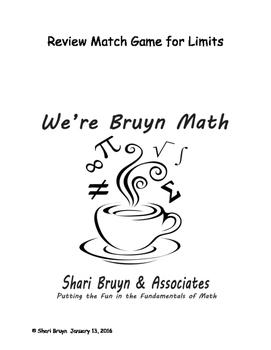 Limits - Match Game