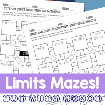 Limits Mazes!