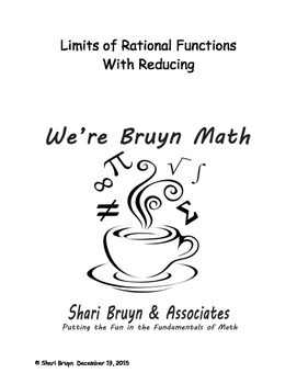 Limits - Rational Functions with Reducing