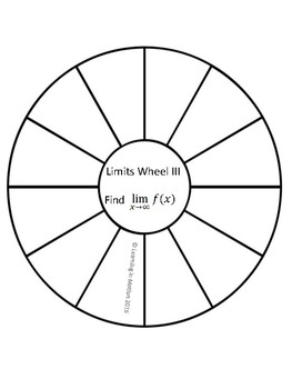 Calculus Limits Wheel III