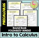 Intro to Calculus FOLDABLES™ (PreCalculus - Unit 10)