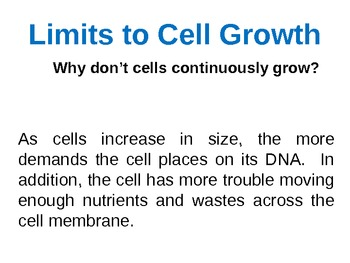Limits to Cell Size