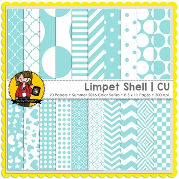 Limpet Shell Digital Papers {CU}