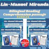 Lin-Manuel Miranda Bilingual Reading Comprehension Activit