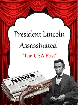 Lincoln Assassination Newspaper