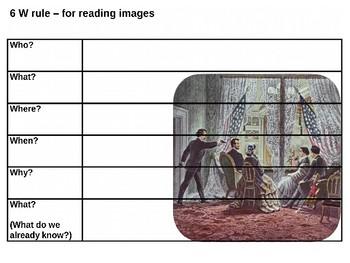 Lincoln Assassination Picture Puzzle