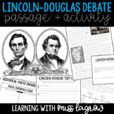 Lincoln Douglas Debate Illinois History Close Reading Passage