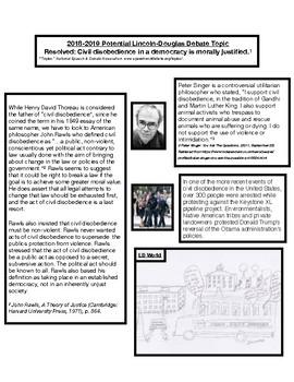 Lincoln-Douglas Debate Tip Sheet 3
