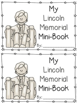Lincoln Memorial Mini-Books