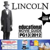 Lincoln Movie Guide | Questions | Worksheet (PG13 - 2012)