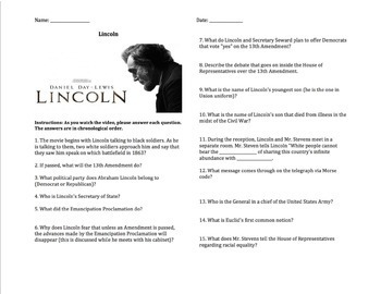 Lincoln - Complete Movie Guide & Walt Whitman Poem Analysis
