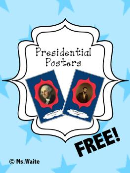 Lincoln & Washington Posters