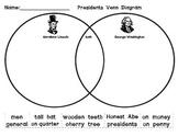 Lincoln and Washington: A Venn Diagram and more