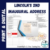 Lincoln's 2nd Inaugural Address All In One Bundle w/ Quest