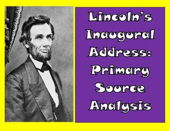 Lincoln's Inaugural Address