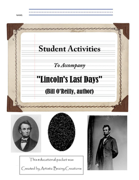 Lincoln's Last Days Student Workbook for this novel