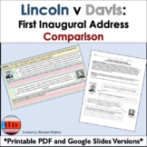 Abraham Lincoln and Jefferson Davis: First Inaugural Address