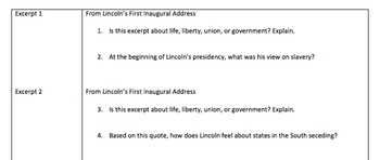 Lincoln's Wise Words