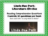 Linda Sue Park 5 Book Bundle: reading comprehension questions; save 30%