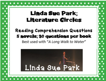 """Linda Sue Park Author Study Expanded - Explore """"A Long Walk to Water"""" author"""