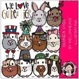 Guinea pigs clip art - by Melonheadz