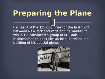 Famous Amerians - Charles Lindbergh's Solo Transatlantic Flight