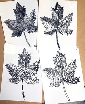 Line Art Leaf