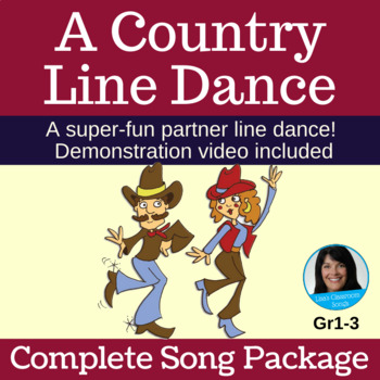 "Partner Line Dance | ""A Country Line Dance""- Lisa Gillam 
