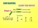 """Line"" Dancing - A Slope Challenge"