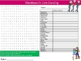 Line Dancing Wordsearch Puzzle Sheet Keywords Dance Performing Arts