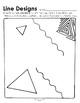 Line Designs Worksheets