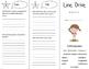 Line Drive Trifold - Storytown 5th Grade Unit 1 Week 2