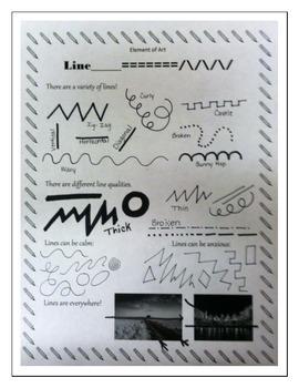 Line: Element of Art