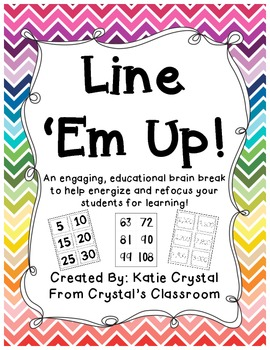 Line 'Em Up Brain Break
