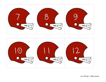 Football Craft + Number Sense Activity