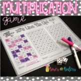 Line Em Up Multiplication Game