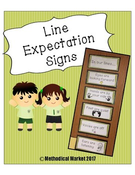 Line Expectation Posters
