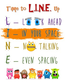 Line Expectations Poster