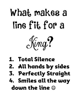 Line Fit for a King