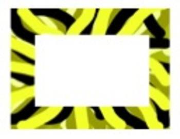 Colorful Line Frames